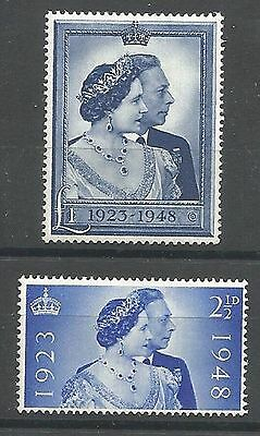 1948 Royal Silver Wedding Set Unmounted Mint