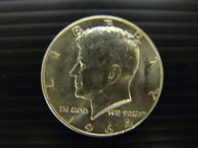 KENNEDY HALF DOLLAR,1964 SILVER COIN - Excellent Condition