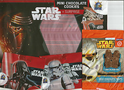 Star Wars Confectionery Wrappers X 12 Different