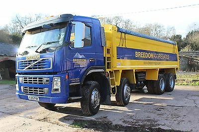2005 Volvo FM12 340 8x4 Tipper Lorry Insulated Body