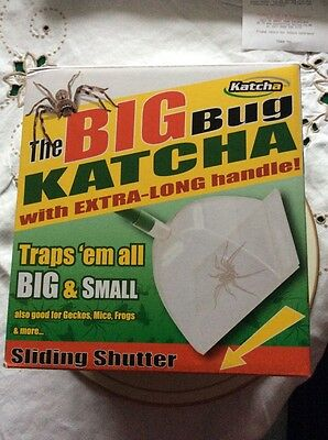 Big Bug Katcher With Sliding Shutter Insect Catcher. New