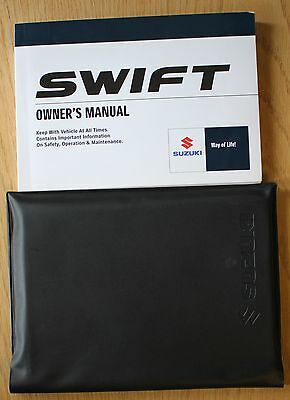 Suzuki Swift Owners Manual Handbook Wallet 2008-2010 Pack 7915