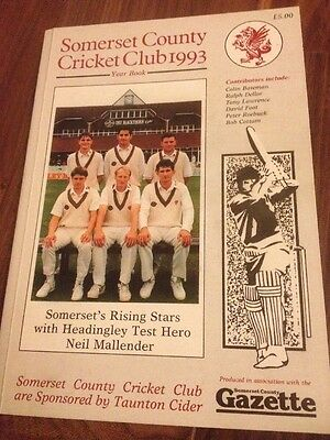 Somerset County Cricket Club 1993 Yearbook