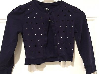 The Children's Place Girls Front Button Sweater Size S (5/6)-EUC