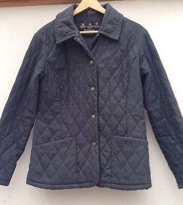 Women's Barbour Shaped Quilted Jacket. SIZE 10