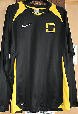 Nike Dry Fit Football Shirt Long Sleeve Great Condition Goalkeeper Top