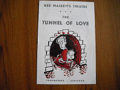 Her Majesty's Theatre, London - The Tunnel Of Love - 1957 - William Franklyn