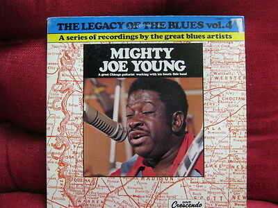 BluesLP:LEGACY OF THE BLUES VOL.4 Mighty Joe Young CRESCENDO RECORDS 1976 USA