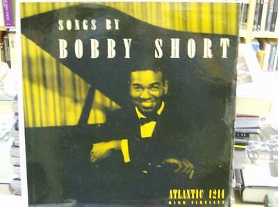 """Songs by BOBBY SHORT"" LP RECORD Atlantic"