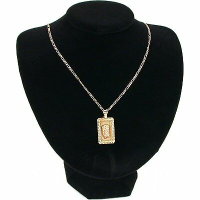"""Black Velvet Necklace Display Bust Jewelry Stand L 8"""""""