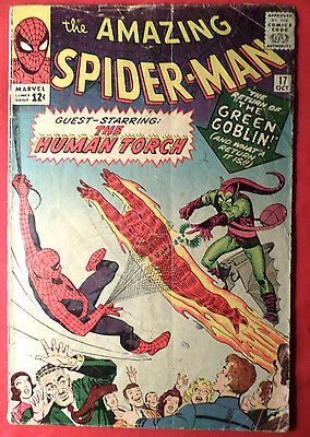 Amazing Spider-man 17 2nd Green Goblin Silver Age