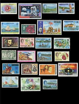 Grenada Mini Collection of 44 Stamps