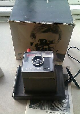 Polaroid Super Swinger Land Camera, , Box & Instructions,
