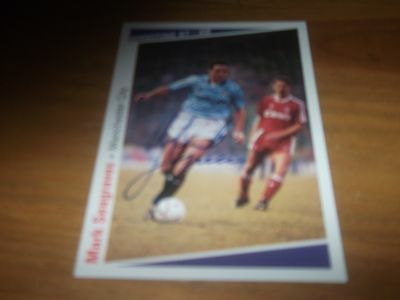 Shooting Stars Mark Seagraves Man City Signed Card