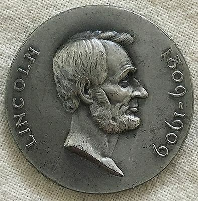 Abraham Lincoln Centennial, Birthplace silver Medal, 1909