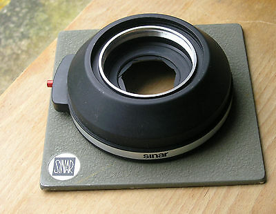 Sinar  norma  later DB  size 3  mount manual set lens board