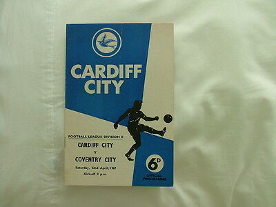 Cardiff v Coventry 66-67