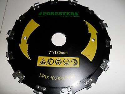 """7 """" BRUSHCUTTER CHAIN SAW TOOTH BLADE, replacement for STIHL, ECHO, HUSQVARNA +"""