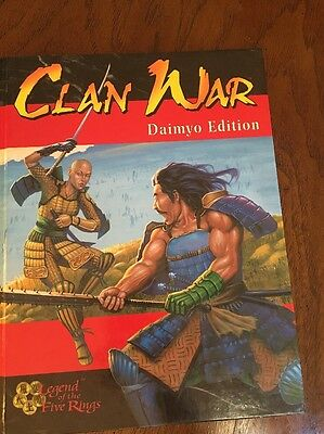Clan War Legends Of The Five Rings Daimyo Edition