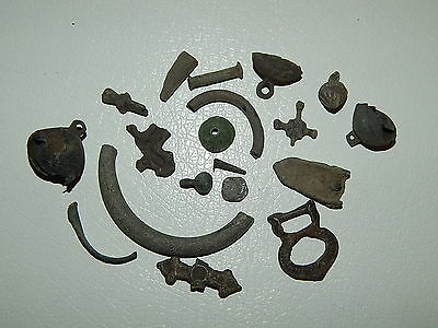 Ancient bronze artifacts Vikings 10-13 AD