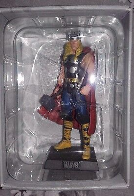 Classic Marvel Figurine Collection #15 Thor Figurine And Magazine