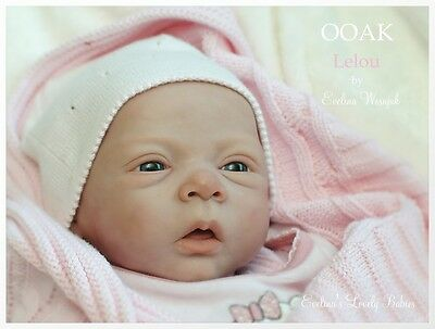 Reborn doll kit  Lelou by Evelina Wosnjuk
