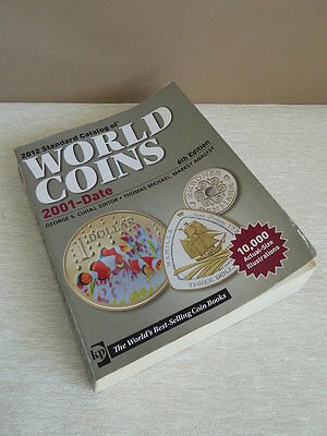 2012 Standard Catalog of World Coins Book 6th Edition 2001 - Date