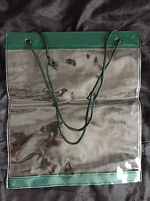 Orienteering Hiking Waterproof Map Cover New Without Tags