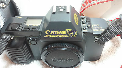 Canon T-70 35mm SLR Film Camera Body Only
