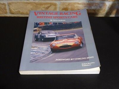 """""""VINTAGE RACING BRITISH SPORT CARS"""" forwarded by STERLING MOSS"""