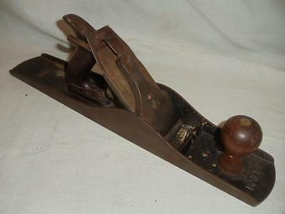 Stanley Bailey No. 6 Corrgated Wood Plane SW Sweetheart 1910 Woodworking Tool