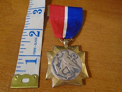 Vintage Reproduction Full Size WWII Merchant Marine Mariners Medal For Valor C