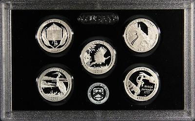 2015 S SILVER 25c Proof National Parks America The Beautiful Quarter Set
