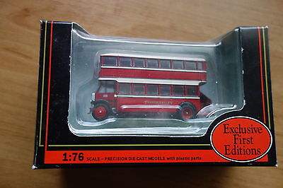EFE, 1:76 scale model bus, Thames Valley Leyland TD1 with open staircase