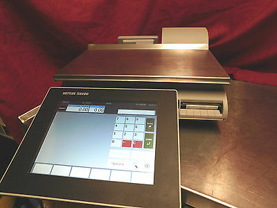 Mettler Toledo Smart Touch Scale Impact Pact M Scale & Printer CLEANED! #219