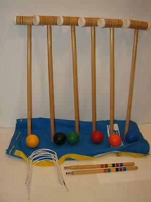 Forster Croquet Set  --Very Nice