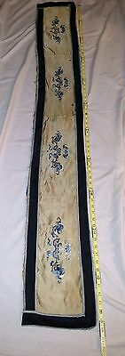 Vintage Chinese Silk Embroidery  Tapestry Unframed
