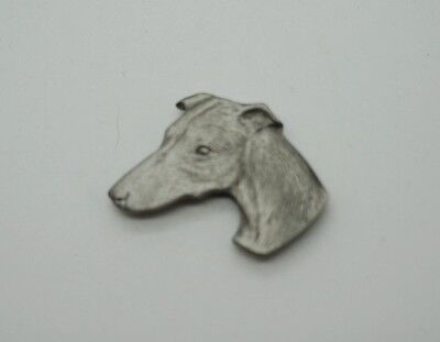 RAWCLIFFE Fine Pewter Dog Puppy WHIPPET Refrigerator Magnet