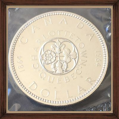 1864-1964   Canada Silver Dollar Proof-like MS-65 sealed #1
