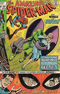 The Amazing Spider-Man #94 (Mar 1971, Marvel) Bronze Age Comic Book