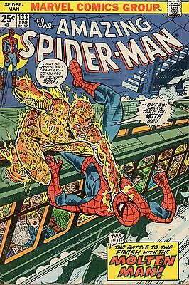 The Amazing Spider-Man #133 (Jun 1974, Marvel) Bronze Age Comic Book
