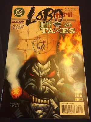 #2 - LOBO - Death And Taxes - Part 2 of 4 - DC 1996
