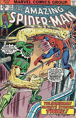The Amazing Spider-Man #154 (Mar 1976, Marvel) Bronze Age Comic Book