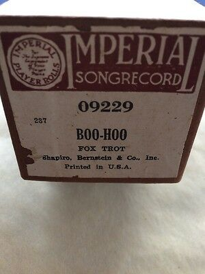 IMPERIAL Song Record - BOO-HOO - #09229