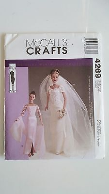 """NEW McCall's sewing patterns-Tyler-Tonner-Jamie-Kingdom- Sybarite 16"""" doll #4269"""