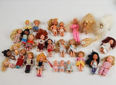 Lot Barbie Toddlers Babies and Pets Kelly & Friends Afghan Dogs & Cat  25 Dolls