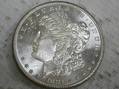 1881 S Morgan Silver Dollar Uncirculated~Proof Like!