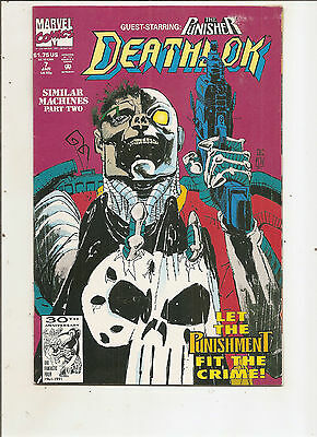 Deathlok #7 - Punisher - VF