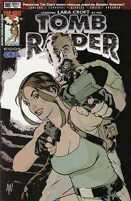 Tomb Raider: The Series #18 in Near Mint - condition. FREE bag/board
