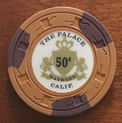 The Palace Casino $.50 casino chip from California